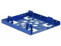 Delock Aluminium installation frame 2 x 2.5″ to 3.5″ blue