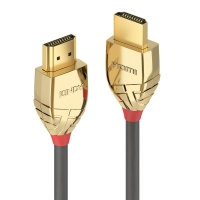 Lindy 0.5m High Speed HDMI Cable, Gold Line