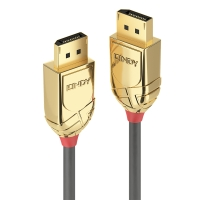 Lindy 20m DisplayPort Cable, Gold Line