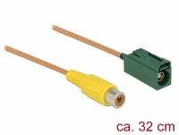 Delock Cable FAKRA E jack > RCA jack RG-179 32 cm
