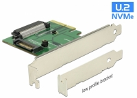 Delock PCI Express x4 Card > 1 x internal U.2 NVMe SFF-8639 female