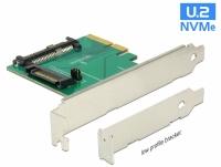 Delock PCI Express x4 Card > 1 x internal U.2 NVMe SFF-8639 male