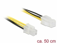 Delock Extension cable P4 4 pin male > P4 4 pin female 50 cm