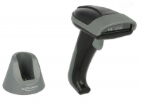 Delock Bluetooth Barcode scanner 1D with charging cradle - Line scanner