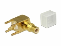 Delock Adapter SMC jack 90° angled PCB