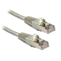 Lindy 15m CAT5e Gigabit FTP Snagless Network Cable, Grey