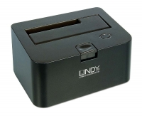 "Lindy USB 2.0 & eSATA Docking Station for 2.5"" & 3.5"" SATA Hard Drives"