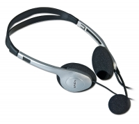 Lindy Stereo Headphones with Microphone