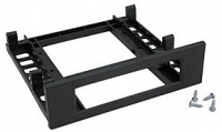 "Lindy Low Cost Universal 3.5"" FDD to 5.25"" Bay, Black"