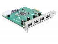 Delock PCI Express Card USB 2.0 4 Port