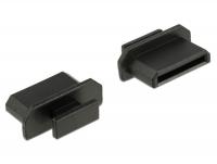 Delock Dust Cover for HDMI mini-C female with grip 10 pieces black