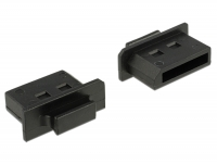 Delock Dust Cover for Displayport female with grip 10 pieces black