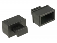Delock Dust Cover for SFP slot with grip 10 pieces black