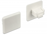 Delock Dust Cover for RJ45 jack without grip 10 pieces white