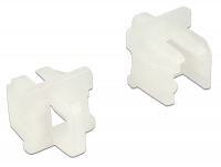 Delock Dust Cover for RJ11 jack with grip 10 pieces white