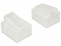 Delock Dust Cover for RJ45 plug 10 pieces transparent