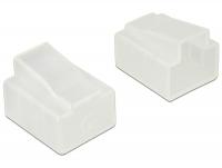 Delock Dust Cover for RJ45 plug 10 pieces transparent