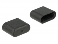 Delock Dust Cover for USB Type-C™ male 10 pieces black
