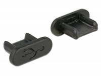 Delock Dust Cover for USB 2.0 Micro-B female without grip 10 pieces black