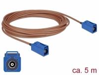 Delock Antenna Cable FAKRA C jack > FAKRA C jack RG-316 5 m