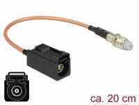 Delock Antenna Cable FAKRA A jack > FME jack RG-316 20 cm