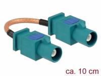Delock Antenna Cable FAKRA Z plug > FAKRA Z plug RG-316 10 cm