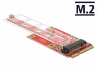 Delock Converter Mini PCIe > M.2 Key B slot + Micro SIM slot
