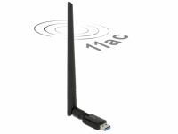 Delock USB 3.0 Dual Band WLAN ac/a/b/g/n Stick 867 + 300 Mbps with external antenna