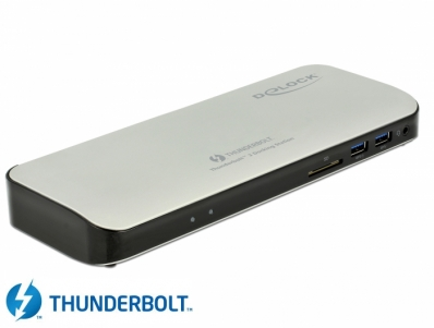 Delock Thunderbolt™ 3 Docking Station 5K - HDMI / USB 3.0 / USB-C™ / SD / LAN