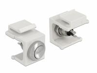 Delock Keystone Push-button white