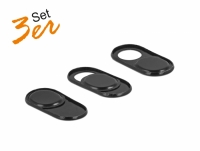 Delock Webcam Cover for Laptop,Tablet and Smartphone 3 Pack