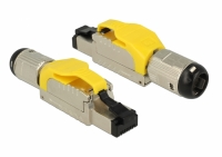Delock RJ45 Plug field assembly Cat.6A metal