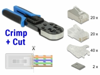 Delock RJ45 Crimp+Cut Toolkit