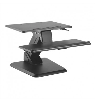 VALUE Adjustable Desktop Workstation, Sit - Stand Up, black