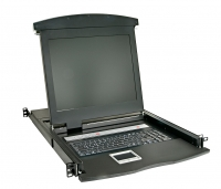 "Lindy 17""/43.2cm LCD KVM Terminal Basic, DE layout"