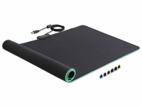 Delock USB Mouse Pad 900 x 400 x 3 mm with RGB Illumination