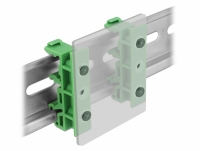 Delock DIN rail clip for PCB 4 pieces