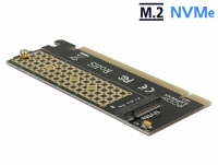 Delock PCI Express x16 Card to 1 x NVMe M.2 Key M for Server