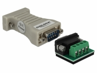 Delock Converter 1 x Serial RS-232 DB9 to 1 x Serial RS-485 with ESD protection 15 kV