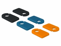 Delock Cable Marker Clip for Self-labeling Set 6 pieces