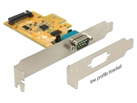 Delock PCI Express Card to 1 x Serial with voltage supply ESD protection