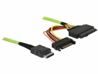 Delock Cable OCuLink PCIe SFF-8611 to U.2 SFF-8639 0.5 m