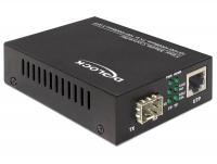 Delock Media Converter 10/100/1000Base-T to 100/1000Base-X SFP