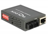 Delock Media Converter 100Base-FX SC SM 1310 nm 30 km compact