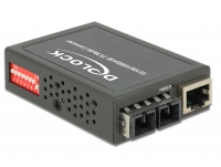Delock Media Converter 1000Base-LX SC SM 1310 nm 10 km compact