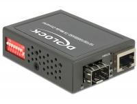 Delock Media Converter 10/100/1000Base-T to SFP compact