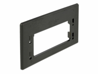 Delock Keystone Adapter Plate for furniture installation outlet