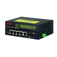 ROLINE Gigabit Ethernet Industrial Switch, 5x RJ45 + 1x SFP