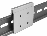 Delock Aluminium Mounting Clip for DIN Rail