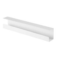 VALUE Cable Cover Organizer (Under Desk Mount), white